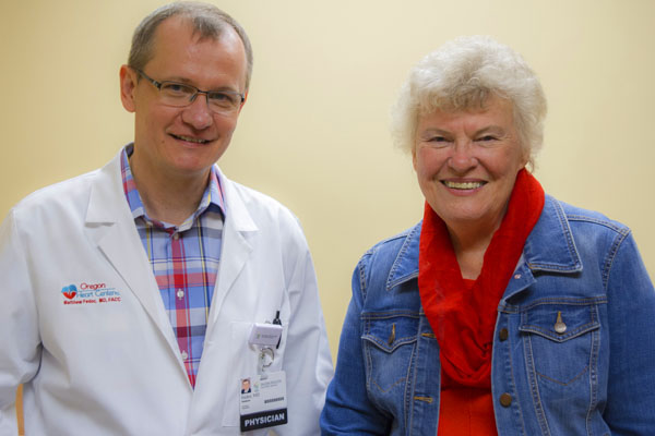 Dr. Fedor and Ruth