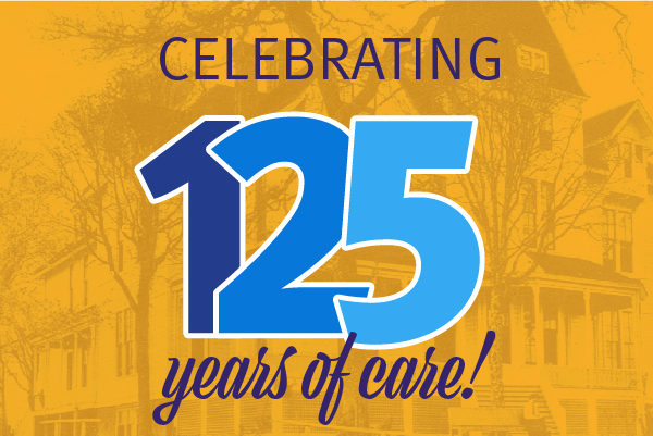 Graphic celebrating 125 years of Salem Health