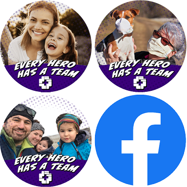 examples of Facebook profile frames