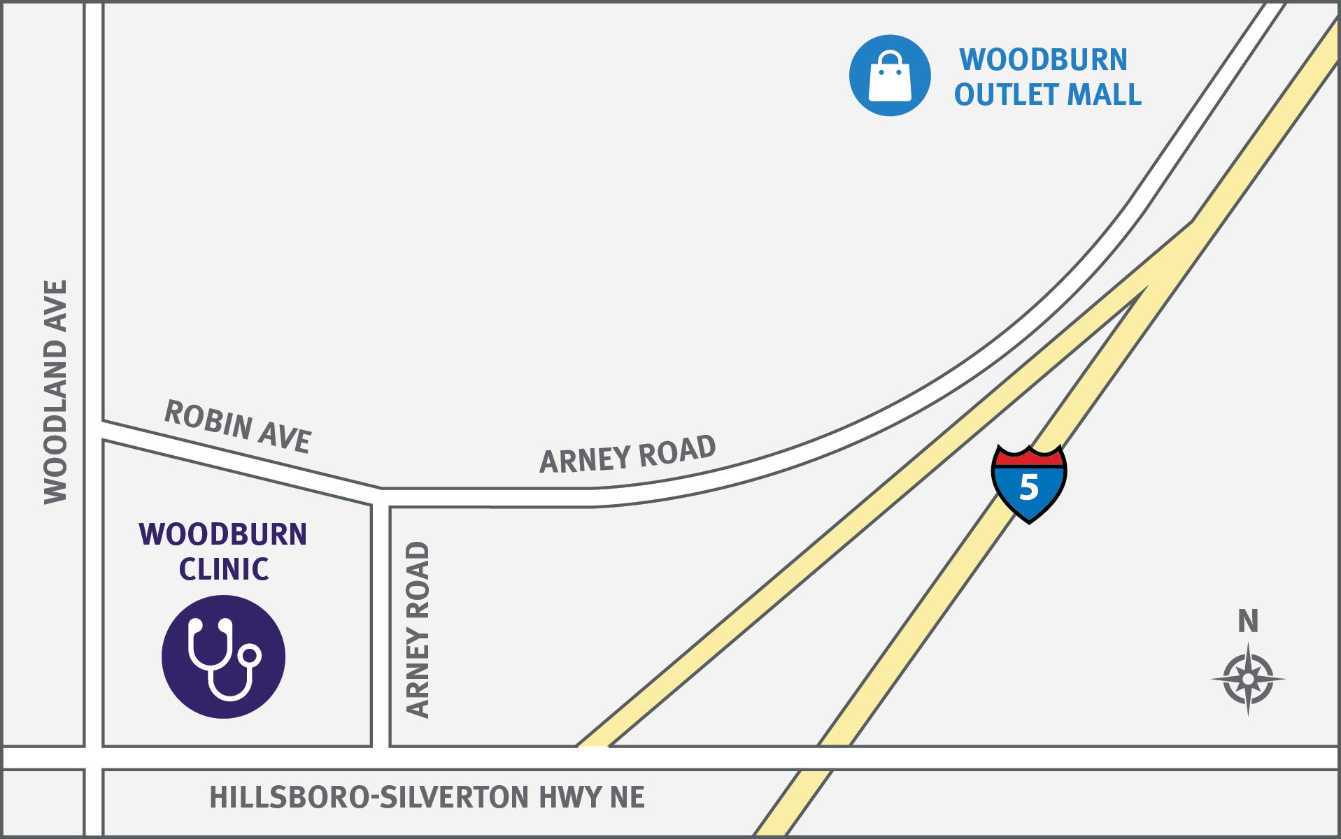 woodburn-map